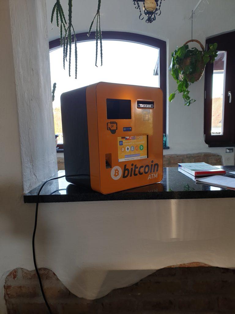 Bitcoin Automat St. Michael im Burgenland