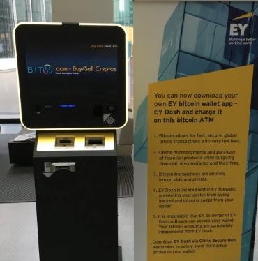 Bitcoin Automat Zürich Ernst & Young
