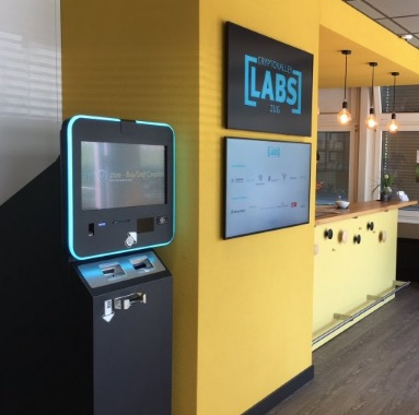 Bitcoin Automat Zug Crypto Valley Labs