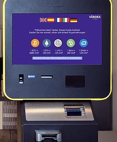 Värdex Bitcoin Automaten