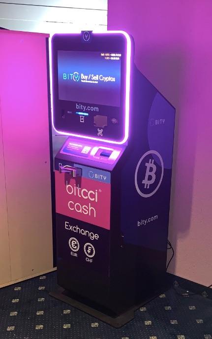 Bitcoin Automat Club Olymp