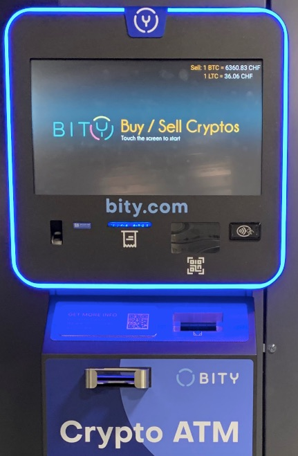Bity Bitcoin Automat