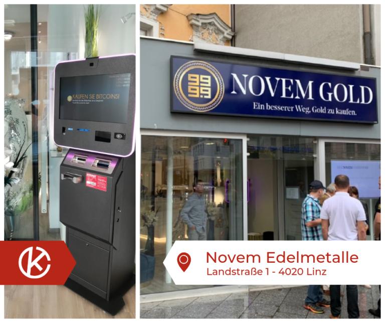 Bitcoin Automat Linz Landstraße