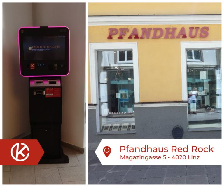 Bitcoin Automat Linz Magazingasse