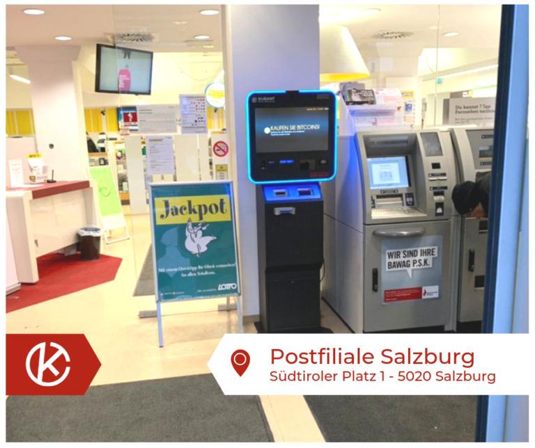 Bitcoin Automat Postfiliale Salzburg