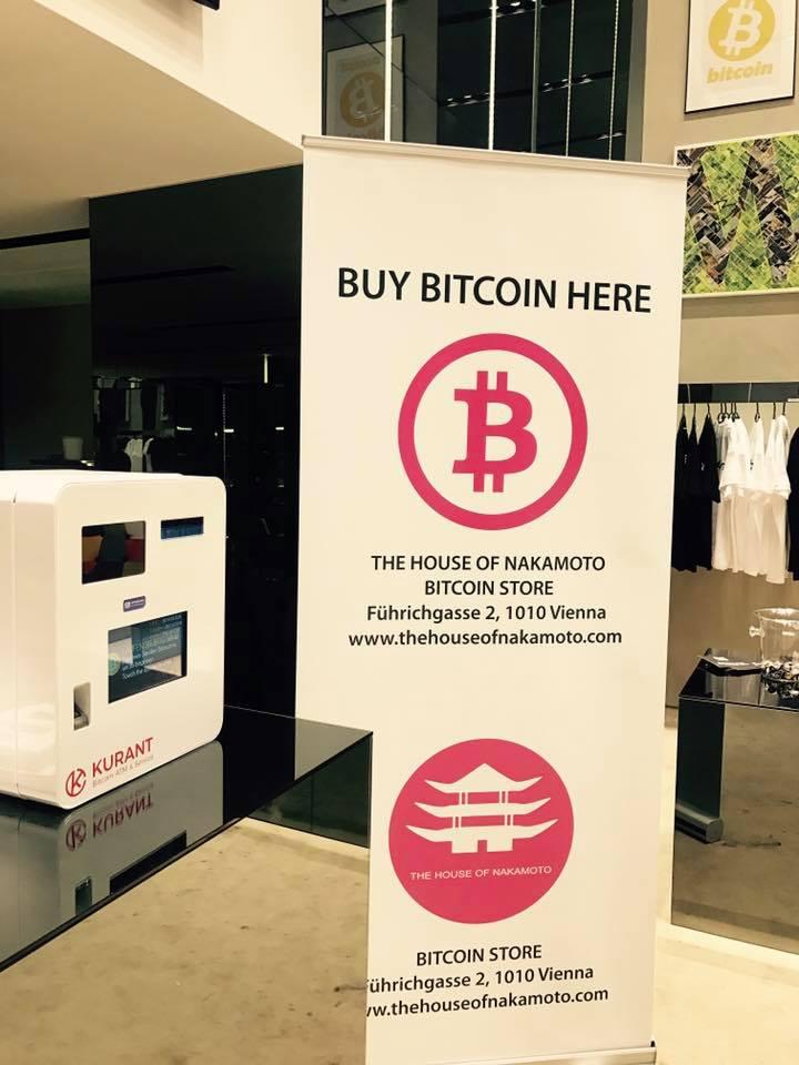 Bitcoin Automat Wien Führichgasse