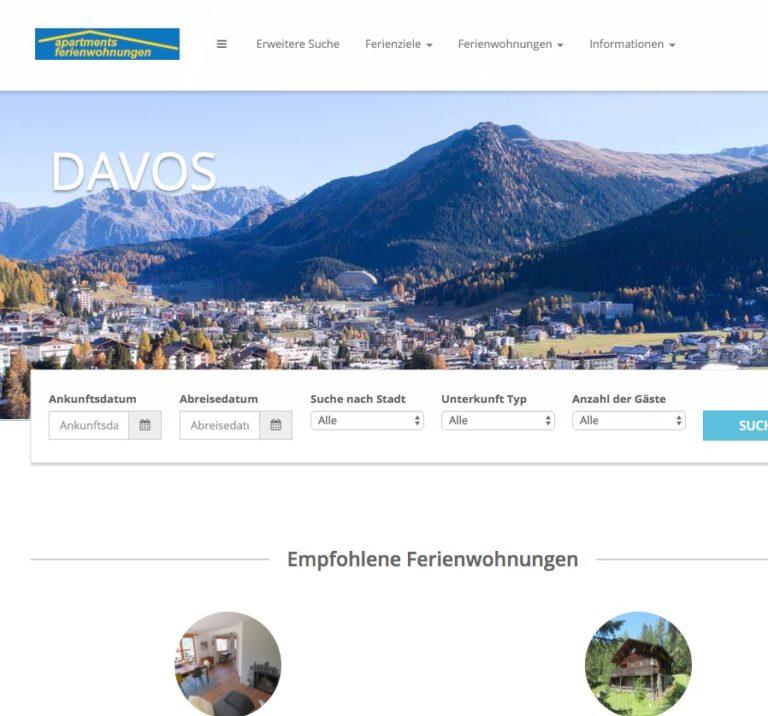 Ferienwohnungen Davos   Appartements 768x716