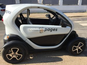 Coinpages mobile with the Coinpages Twizy
