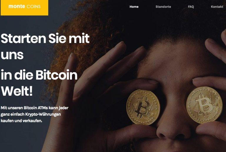 monte COiNS – Bitcoin Kaufen in Deutschland  Bitcoin mit Bargeld Kaufen und Verkaufen – Die ersten Bitcoin Automaten in Deutschland  Kaufen Sie mit EURO Bitcoin an den Bitcoin ATM  768x515