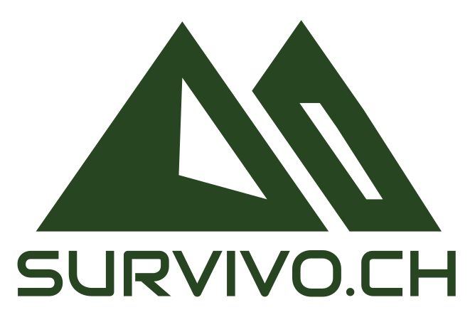 logo SURVIVO OUTDOOR SHOP SCHWEIZ