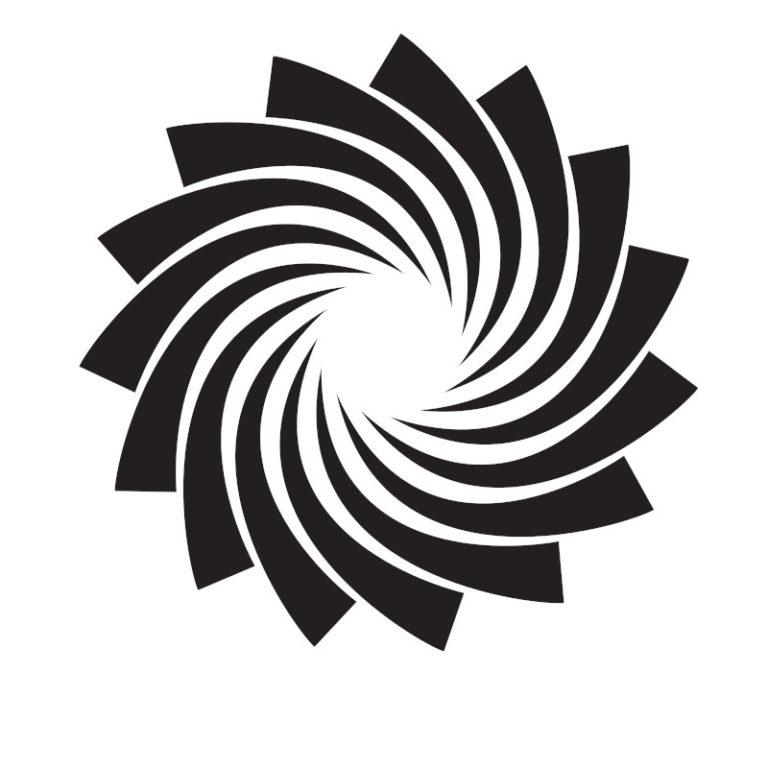 black swirl 768x768